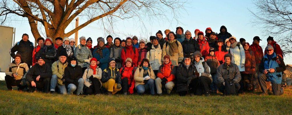 Zahajovací foto v Kateřinicích - 30. 12. 2012