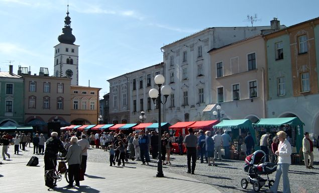 Příbor - náměstí S. Freuda | Foto: A. Slatinský