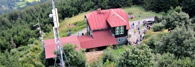 Chata na Velkém Javorníku | Foto: Vladimír Bilský